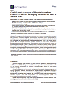 Candida auris, an Agent of Hospital-Associated Outbreaks: Which Challenging Issues Do We Need to Have in Mind?