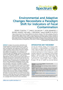 Environmental and Adaptive Changes Necessitate a Paradigm Shift for Indicators of Fecal Contamination