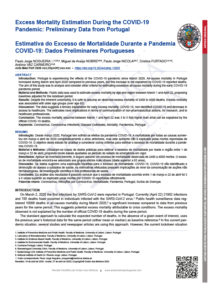 Excess Mortality Estimation During the COVID-19 Pandemic: Preliminary Data from Portugal