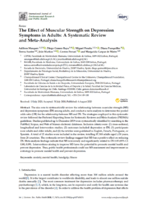 The effect of muscular strength on depression symptoms in adults: a systematic review and meta-analysis