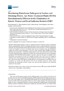 Monitoring Waterborne Pathogens in Surface and Drinking Waters. Are Water Treatment Plants (WTPs) Simultaneously Efficient in the Elimination of Enteric Viruses and Fecal Indicator Bacteria (FIB)?