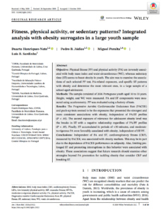 Fitness, physical activity, or sedentary patterns? Integrated analysis with obesity surrogates in a large youth sample