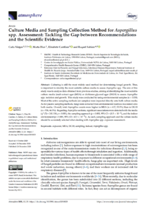 Culture Media and Sampling Collection Method for Aspergillus spp. Assessment: Tackling the Gap between Recommendations and the Scientific Evidence