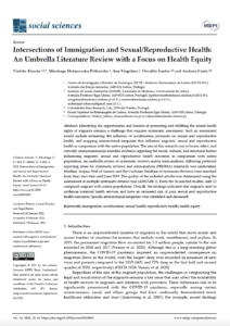 Intersections of Immigration and Sexual/Reproductive Health: An Umbrella Literature Review with a Focus on Health Equity