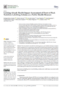 Looking Ahead: Health Impact Assessment of Front-of-Pack Nutrition Labelling Schema as a Public Health Measure