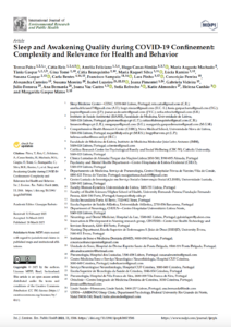Sleep and Awakening Quality during COVID-19 Confinement: Complexity and Relevance for Health and Behavior