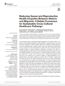 Reducing Sexual and Reproductive Health Inequities Between Natives and Migrants: A Delphi Consensus for Sustainable Cross-Cultural Healthcare Pathways