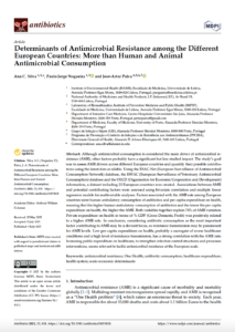 Determinants of Antimicrobial Resistance among the Different European Countries: More than Human and Animal Antimicrobial Consumption